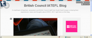 British Council IATEFL blog