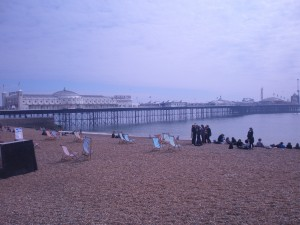 Glad the weather permits us to enjoy Brighton :)